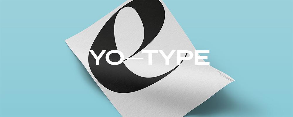 YO-TYPE Poster