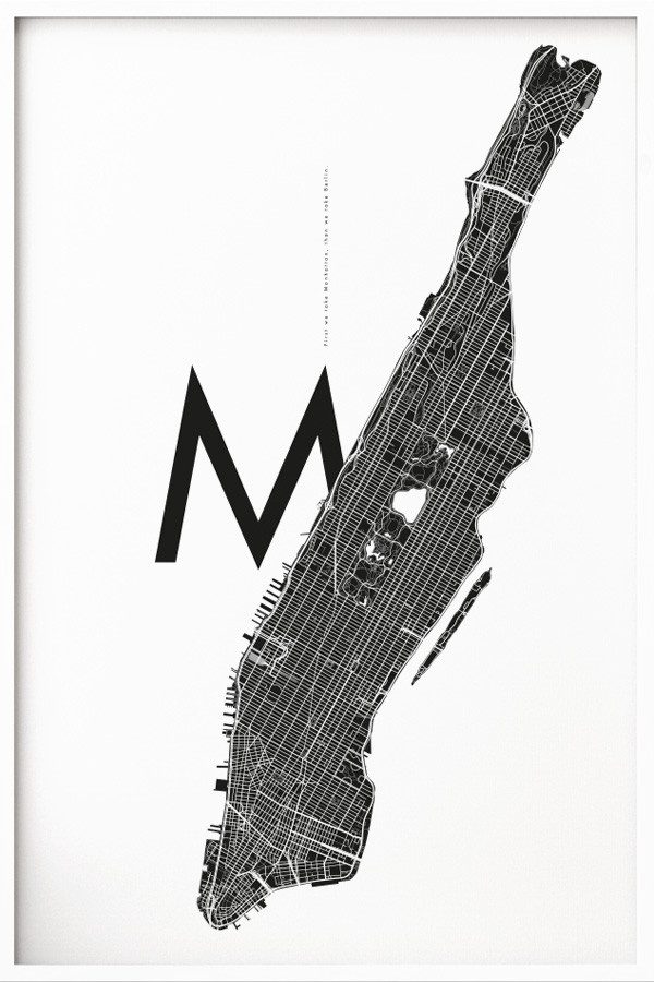 Manhattan M White