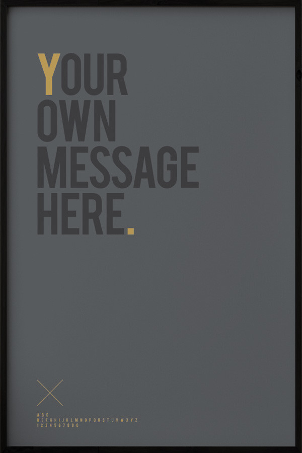 Your Message N°1