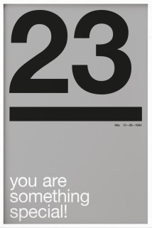 Your Birthday N°7 Grey