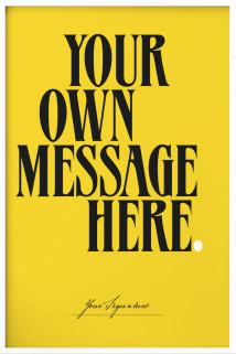 Your Message N°5 Saffron