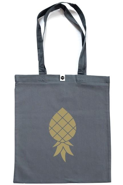 Jutebeutel Goldene Ananas