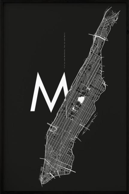 Manhattan M Black