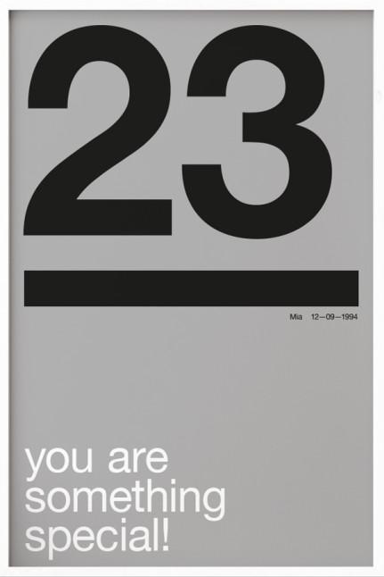 Your Birthday N°7 Grey