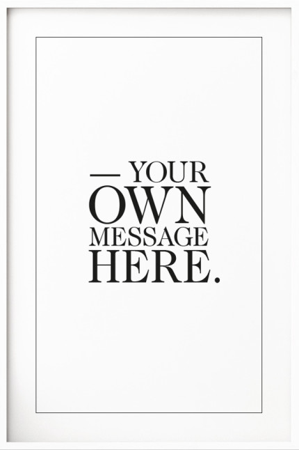 Your Message N°10 White
