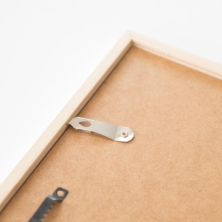 bilderrahmen w01 wei holzrahmen in vielen gr en yourownage. Black Bedroom Furniture Sets. Home Design Ideas